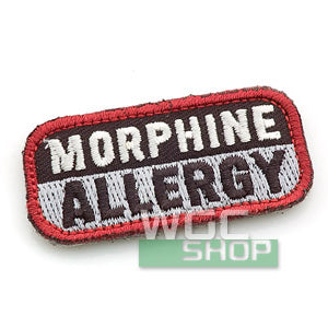 Mil-Spec Monkey Patch - Morphine Allergy ( SWAT )