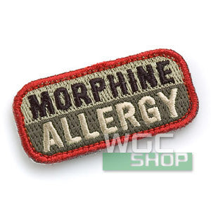 Mil-Spec Monkey Patch - Morphine Allergy ( ACU )