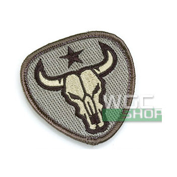 Mil-Spec Monkey Patch - Bull Skull ( ACU )