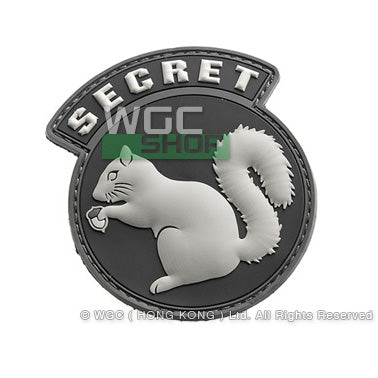 Mil-Spec Monkey Patch - PVC Secret Squirrel ( SWAT )