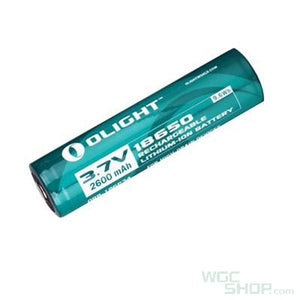 Olight 2600mAh 18650 Lithium-ion Battery