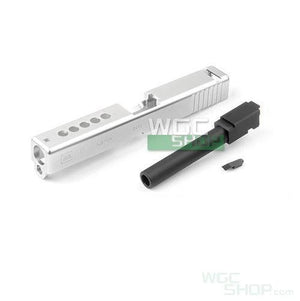 PGC CNC Aluminium Slide & Outer Barrel Set for Marui G17 Custom GBB Pistol
