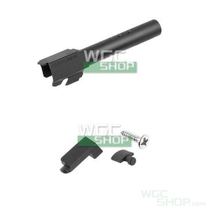 PGC Aluminum Slide & Outer Barrel Set for Marui G18C GBB Pistol ( Black )