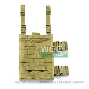 PANTAC MOLLE Upright Drop Leg Panel ( Khaki )