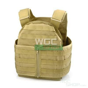 PANTAC MOLLE Hard PC Vest with Cummerbund ( Khaki / M )