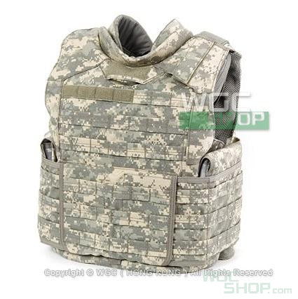 PANTAC MOLLE Improved Outer Tactical Vest w/ Pad Set ( ACU / M )