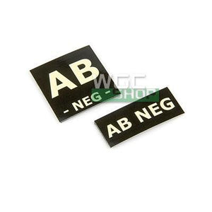 Proud Blood Type Patch AB Neg