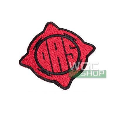 PTS DAS Logo Patch ( Red / Black )