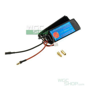 RA-Tech 7.4V 1600mAh 15A Li-Po Battery for PDW AEG Battery Kit