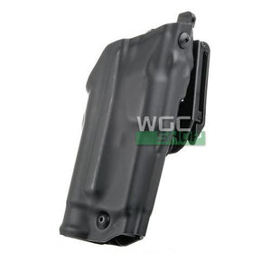 Safariland 6379 ALS Clip On Holster for Glock 17 w/X300 ( STX Plain Black / Right Hand )