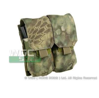 SWAT Molle System Double Magazine Pouch for M4/ M16 Type Arisoft Magazine ( KRYPTEK Mandrake )