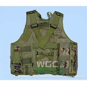 SWAT Tactical Vest with Mesh Base ( Digital Camo )