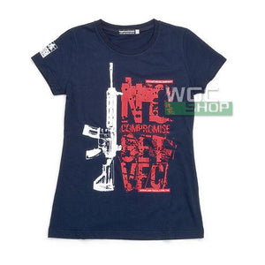 VFC Female T-Shirt ( Dark Blue / HK416 )-WGCShop