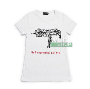 VFC Female T-Shirt ( White / MP7A1 )-WGCShop