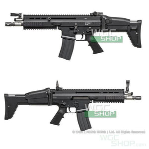 Cybergun / WE SCAR-L GBB Rifle ( Black )-WGCShop