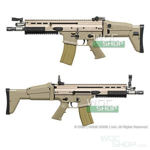 Cybergun / WE SCAR-L GBB Rifle ( Tan )-WGCShop
