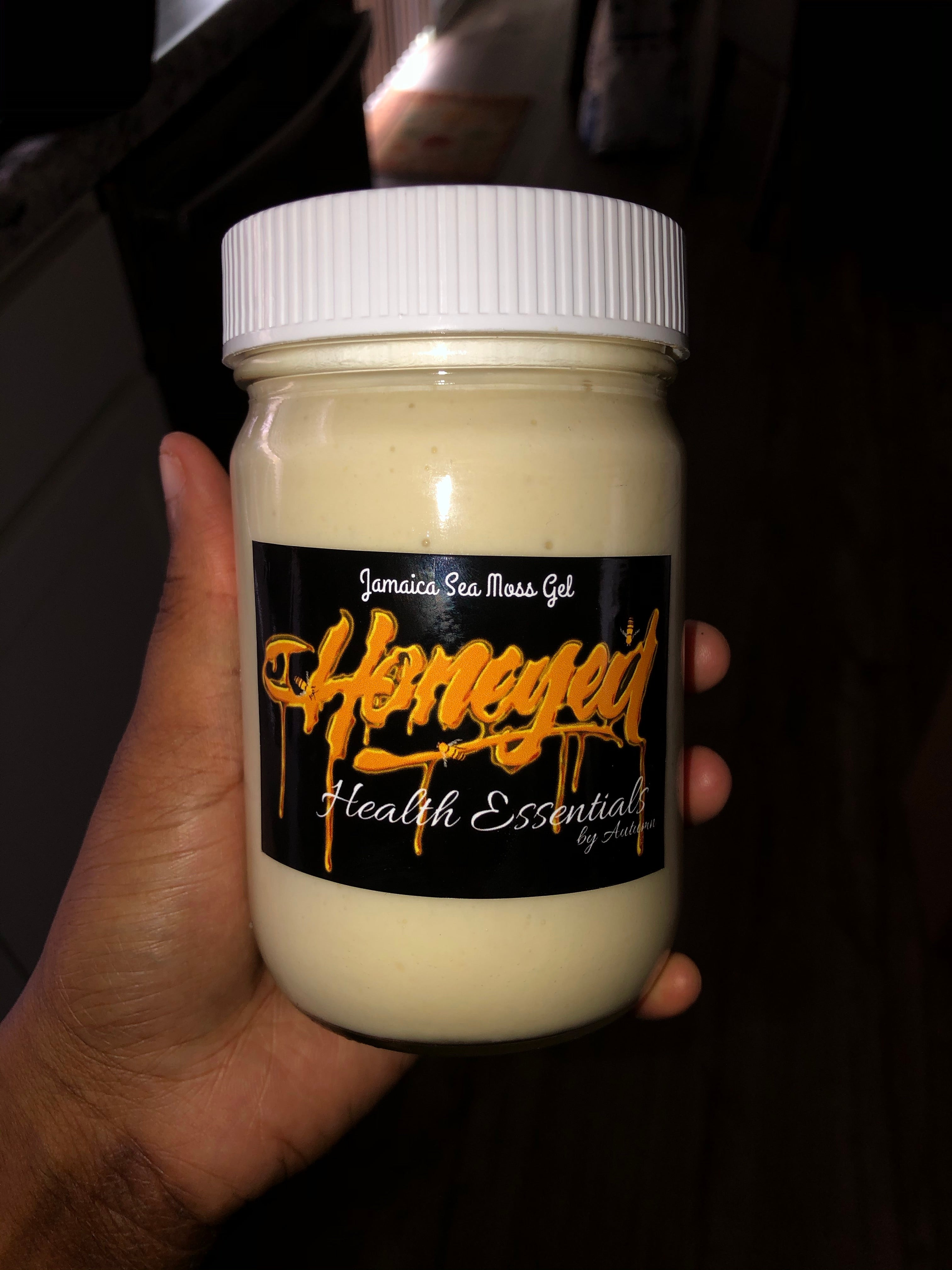 Organic Sea Moss Gel- Dr. Sebi approved