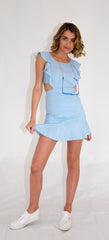 Chloe Dress - Powder blue
