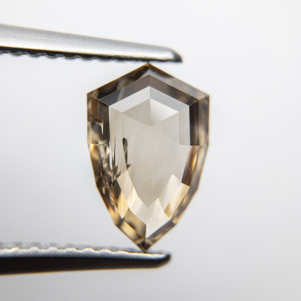 Load image into Gallery viewer, 1.66ct 9.75x6.45x3.05mm Shield Rosecut 18090-21