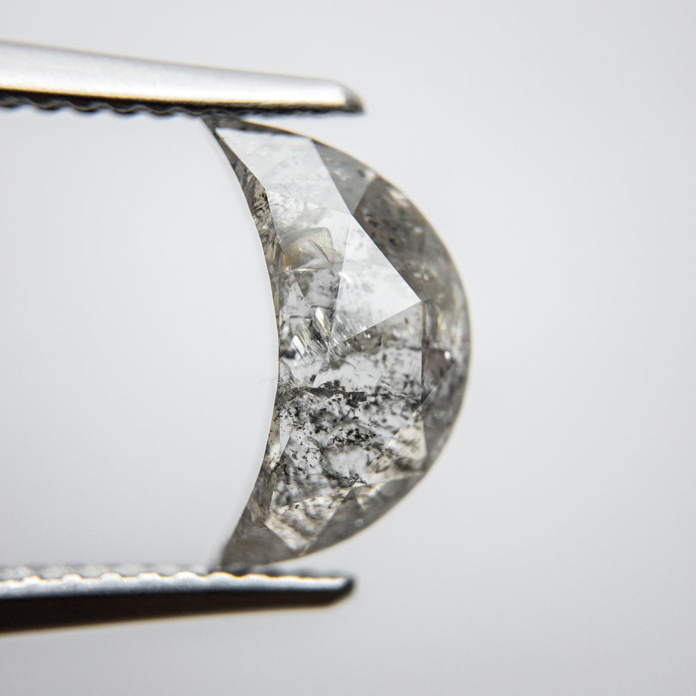 Load image into Gallery viewer, 2.05ct 11.21x6.81x3.35mm Crescent Moon Rosecut 18125-04