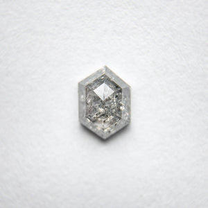 Load image into Gallery viewer, 0.62ct 6.39x4.60x2.45mm Hexagon Rosecut 18134-19