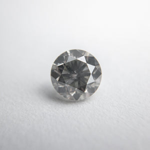 0.65ct 5.33x5.31x3.49mm Fancy Grey Round Brilliant 18273-05