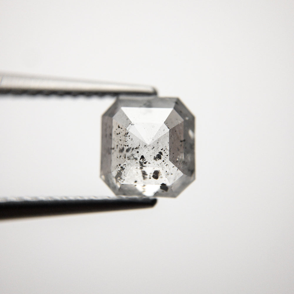 Load image into Gallery viewer, 1.39ct 6.55x6.20x3.39mm Cut Corner Rectangle Rosecut 18318-12