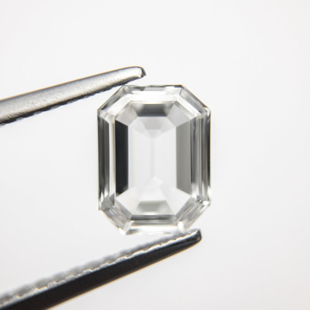Load image into Gallery viewer, 1.00ct 7.57x5.79x2.26mm GIA VS1 E Cut Corner Rectangle Step Cut 18333-01