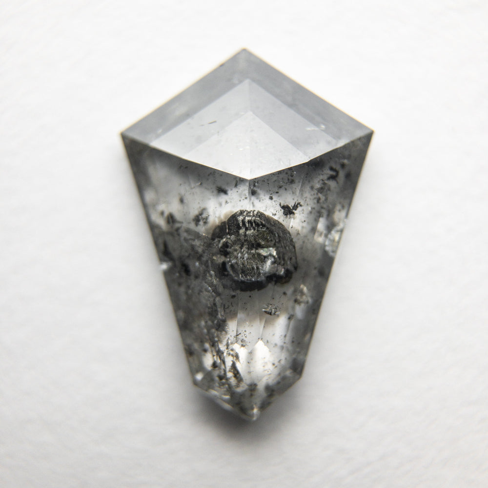 2.04ct 12.28x8.45x3.01mm Shield Rosecut 18363-10