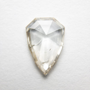 1.26ct 10.38x7.12x2.07mm Shield Rosecut 18369-14