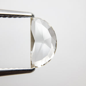 Load image into Gallery viewer, 0.81ct 9.15x4.77x1.81mm Half Moon Rosecut 18369-27