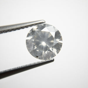 Load image into Gallery viewer, 1.80ct 7.67x7.73x4.80mm Silver Grey Round Brilliant 18370-01