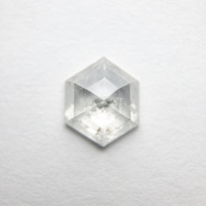 Load image into Gallery viewer, 0.83ct 7.22x6.02x2.40mm Hexagon Rosecut 18386-04