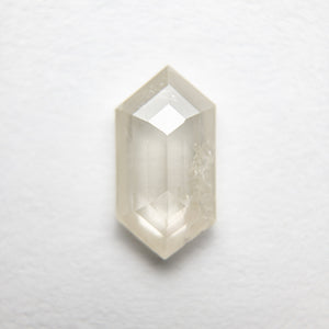 1.17ct 9.74x5.18x2.59mm Hexagon Rosecut 18386-07