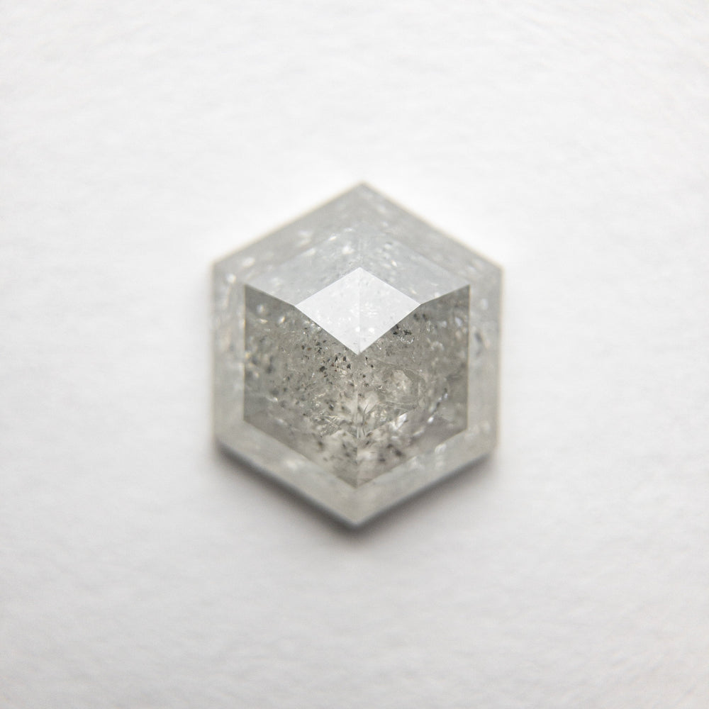 1.52ct 8.23x6.95x3.19mm Hexagon Rosecut 18386-09