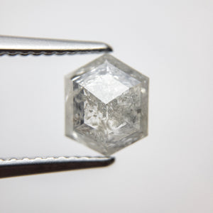 1.51ct 8.22x6.66x3.23mm Hexagon Rosecut 18386-10