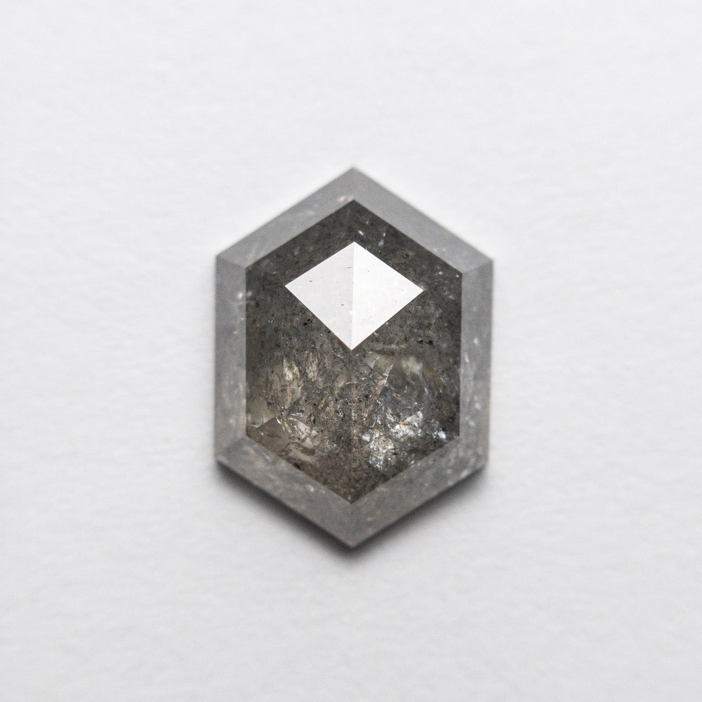 Load image into Gallery viewer, 2.18ct 10.40x7.65x3.55mm Hexagon Rosecut 18407-07