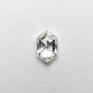 Load image into Gallery viewer, 0.52ct 6.55x4.12x2.38mm VS1 D Hexagon Rosecut 18458-12 🇷🇺