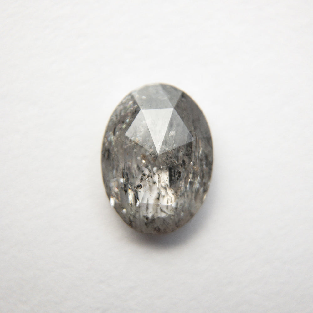Load image into Gallery viewer, 1.25ct 8.15x6.08x2.63mm Oval Rosecut 18489-06