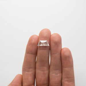 Load image into Gallery viewer, 2.71ct 15.90x7.17x2.42mm  Trapezoid Rosecut 18491-11