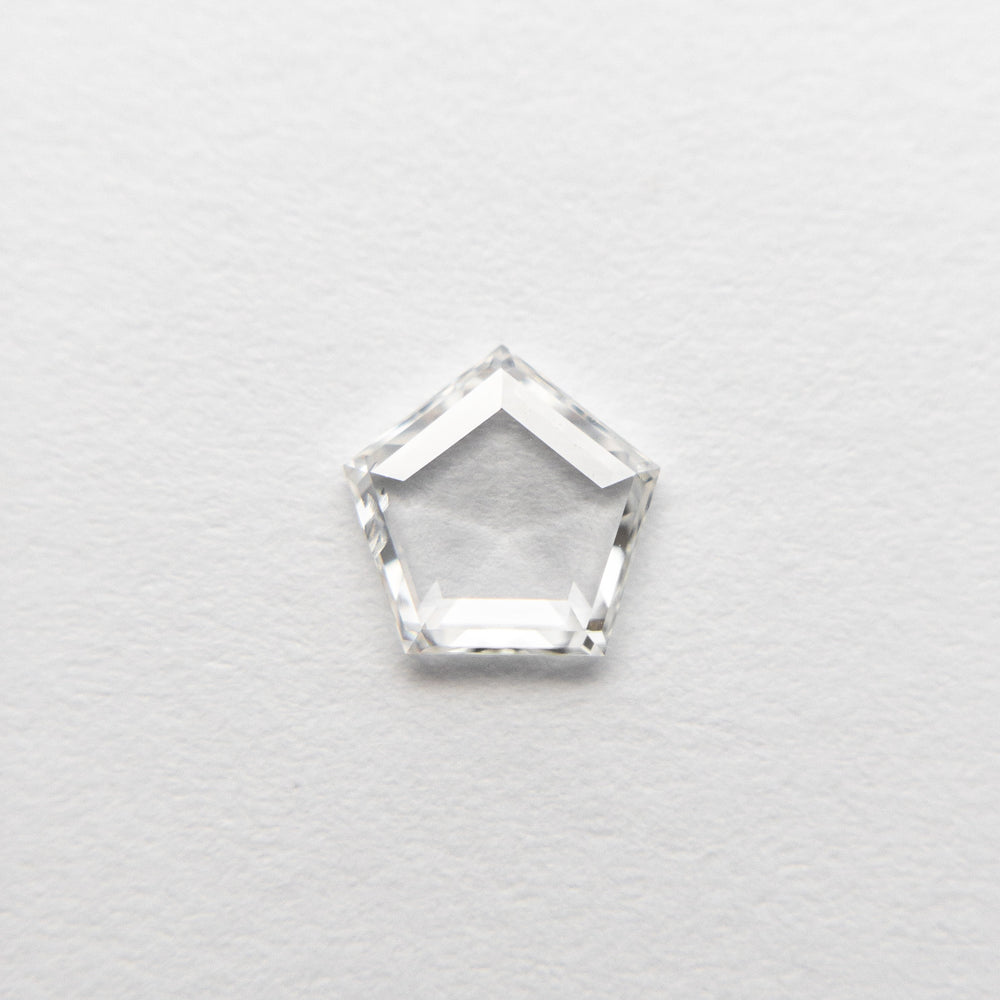 Load image into Gallery viewer, 0.40ct 5.66x5.75x1.31mm Pentagon Rosecut 18495-12
