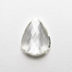 1.28ct 9.81x7.51x1.93mm SI1 J+ Pear Rosecut 18511-01