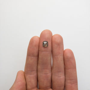 Load image into Gallery viewer, 1.18ct 7.27x6.63x2.33mm Cut Corner Rectangle Rosecut 18521-06