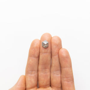 3.36ct 11.05x8.80x4.00mm Hexagon Rosecut 18523-05