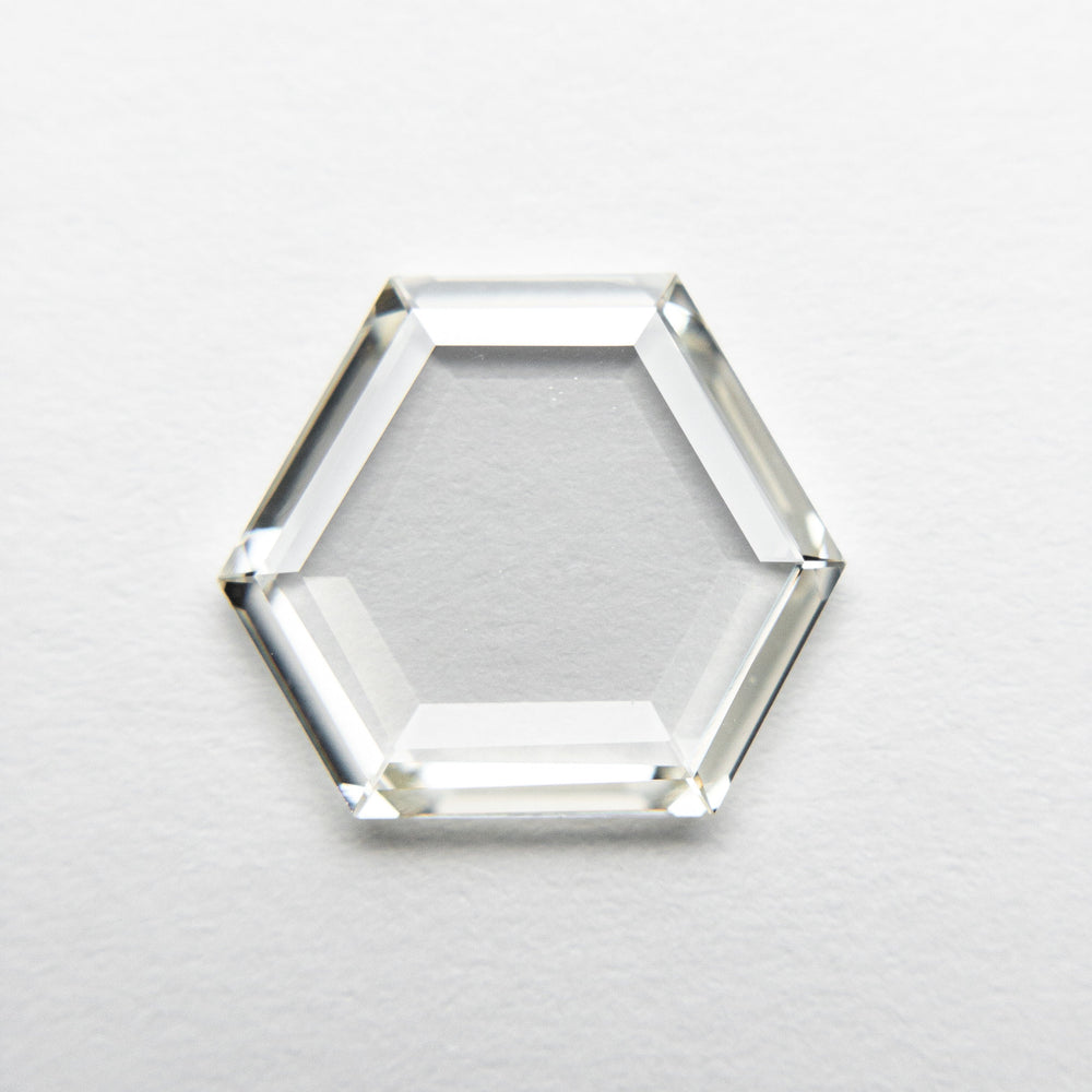 Load image into Gallery viewer, 1.24ct 10.56x9.15x1.17mm VS L-M Hexagon Portrait Cut 18608-01