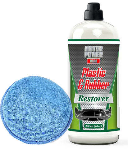Bumper Shine Restore & Protect Faded Plastic Rubber Trim Exterior