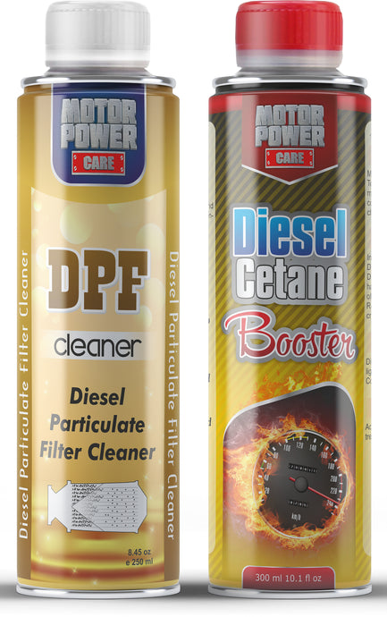 Diesel system treatment kit, DPF cleaner & Cetain Booster high performace