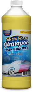 Snow Foam Shampoo with Nano Wax high gloss
