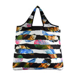 Reusable Colorful Feather Bag