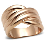 Rose Gold (Ion Plating) Brass Ring